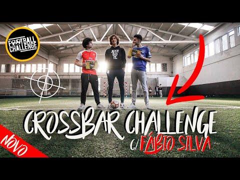 CROSSBAR CHALLENGE c FÁBIO SILVA ⚽️ footchallenge