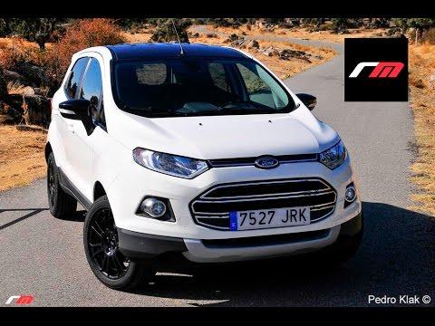 Ford Ecosport Titanium S Ecoboost 140 CV - Prueba revistadelmotor.es