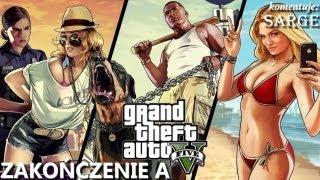 Zagrajmy w GTA 5 (Grand Theft Auto V) BONUS #1 - Zakończenie A (KONIEC GRY)