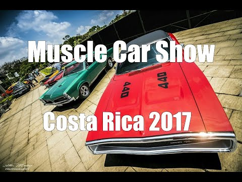 American Muscle Costa Rica - Car Show 2017