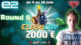 Clash Cup Online 2017   Round 8 : Breizhou VS Imperium Fight   Clash of Clans FR