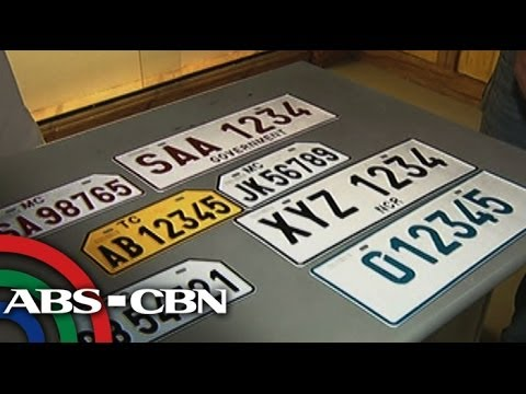 LTO Vows New License Plates In April