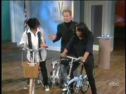 Citizen Bike Folding Bike Featured on ABC's The View