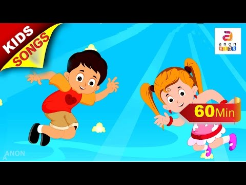 Learn Body Parts | Children Songs | Nursery Rhymes Compilation | Popular Nursery Rhymes by Anon Kids