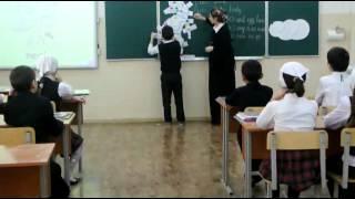 открытое учебное занятие по английскому языку на тему человек и его строение