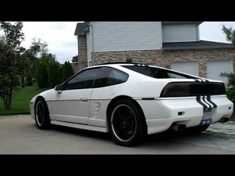 fiero ls4 5 3l v8 matte white vinyl wrap youtube. Black Bedroom Furniture Sets. Home Design Ideas