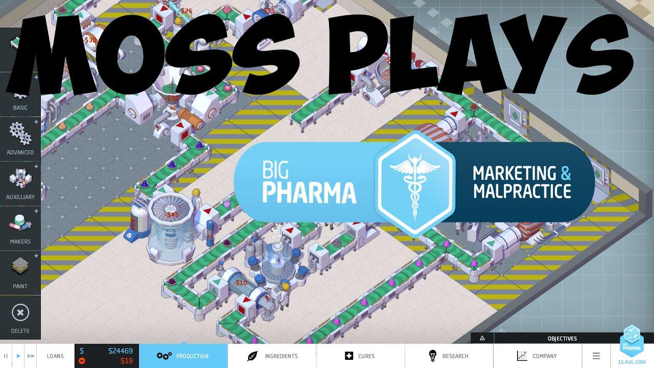 Making Drugs | Big Pharma Lets Play