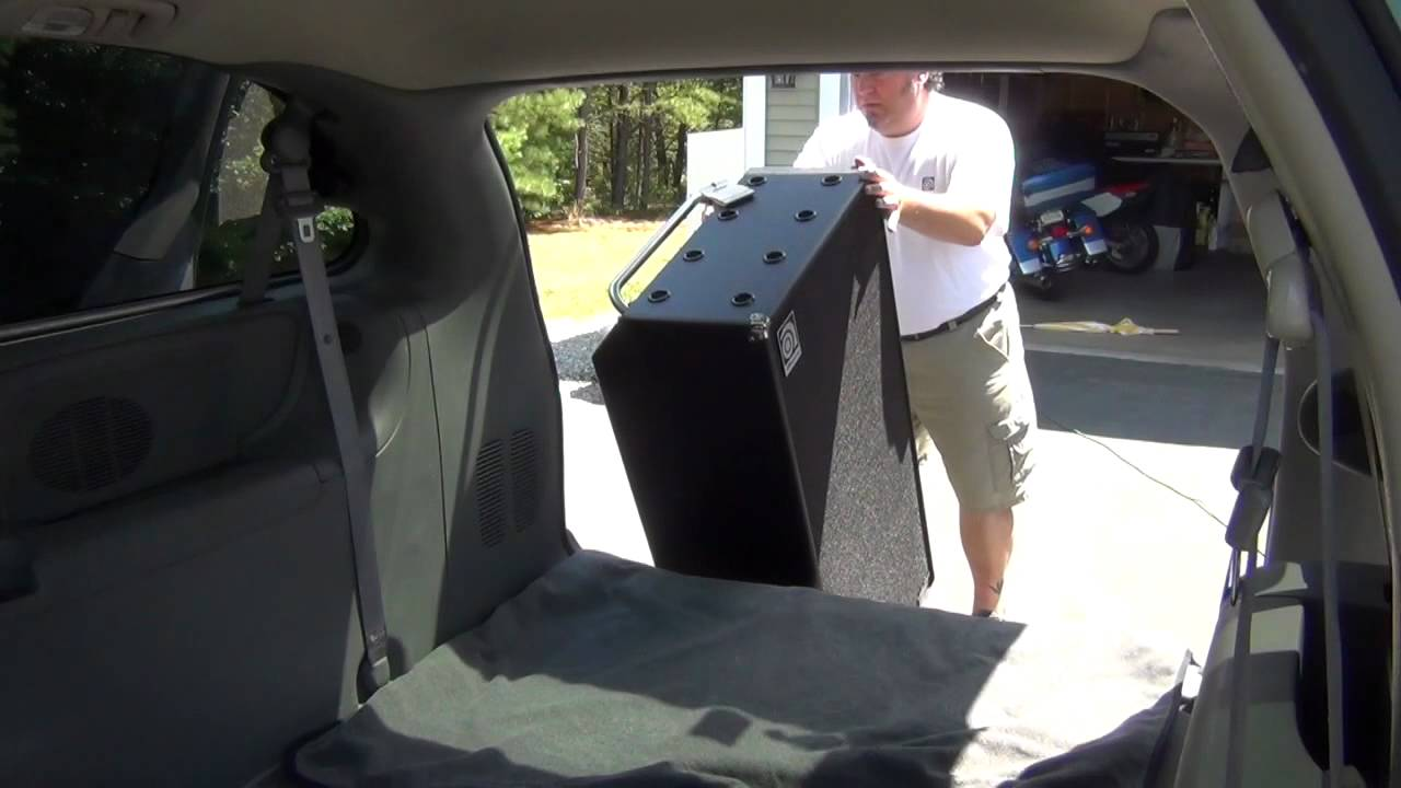 Tips transporting an ampeg 8x10 cabinet youtube for 8x10 kitchen cabinets
