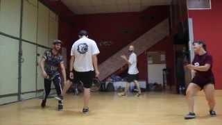 Dani Garrido choreography come over by Estelle