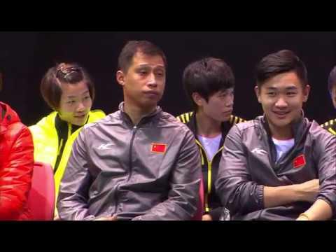 IBERDROLA BWF World Junior Mixed Team Championships 2016 | Badminton F-China vs Malaysia