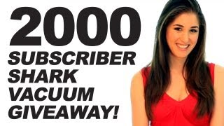 2000 SUBSCRIBER GIVEAWAY ***closed***!! (Clean My Space)