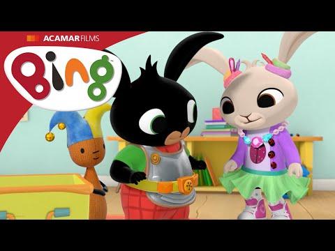 Króliczek Bing - Bajka dla dzieci -  Przebieranki - 7 minut