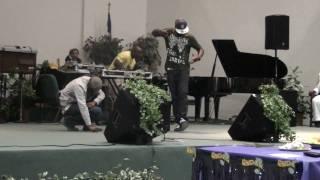 Destroyer & Jay Sav Ministering for Marvin Winans JR