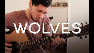 Selena Gomez & Marshmello - Wolves // Fingerstyle Guitar Cover - Dax Andreas