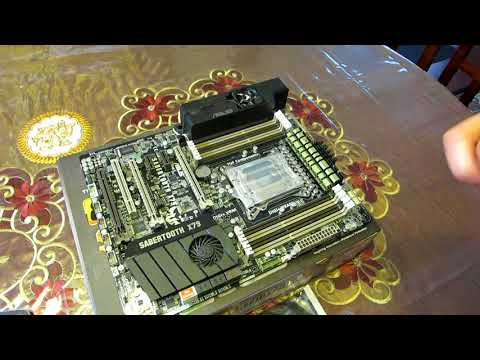 Fixing a Computer Motherboard (BIOS Chip Replaced) - YouTube
