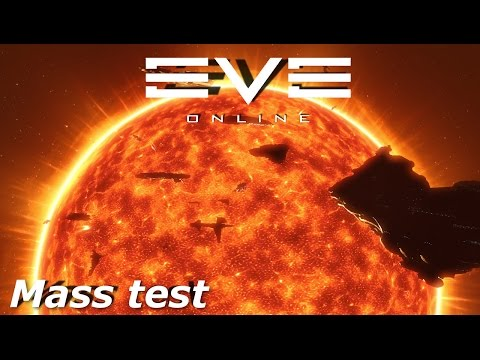 EVE Online - sisi - new stars mass test