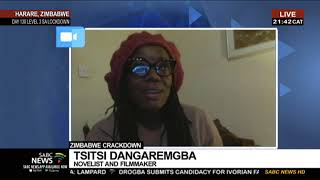 Zimbabwe Novelist Tsitsi Dangarembga on being arrested for anti-corruption protests