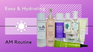 Morning K-Beauty Routine | Easy and Hydrating