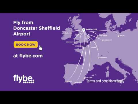 Flybe and Doncaster Sheffield Airport TV advert