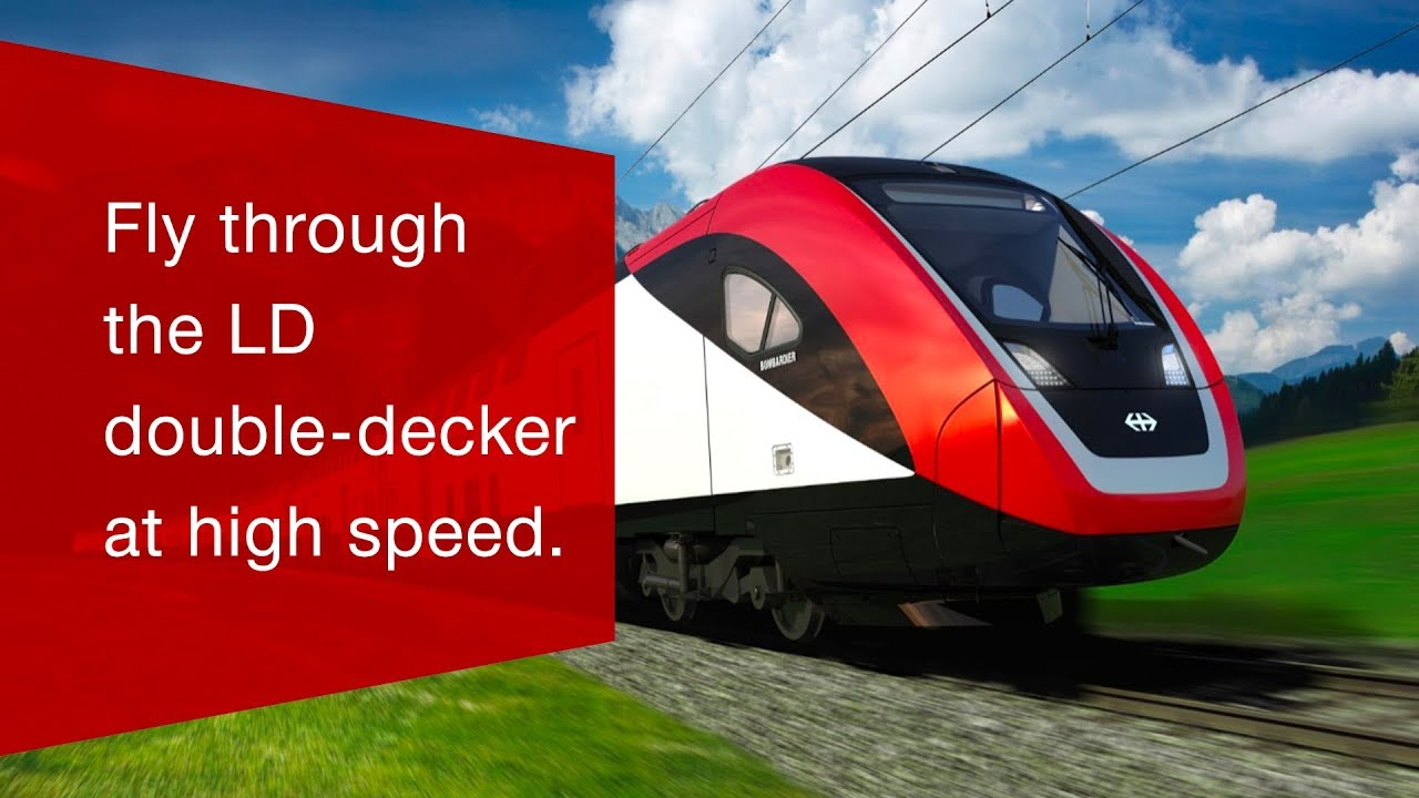 The new long-distance double-deck train | SBB