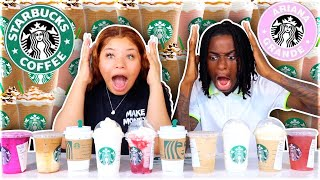 We Ordered Every Drink From STARBUCKS (Pinkity Drinkity)