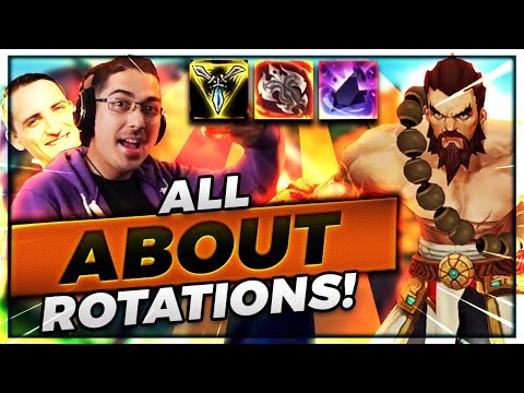 ROTATIONS IS KEY!!   SOME TEAMMATES YOU JUST CAN'T CARRY..... - Trick2G