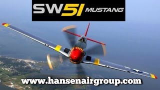 SW51 FK Lightplanes ScaleWings replica Mustang to be on display at Midwest LSA Expo.