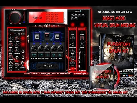 Red Devil Drum Machine Free Download : beast mode virtual drum machine special edition red www vipsoundlab com youtube ~ Vivirlamusica.com Haus und Dekorationen