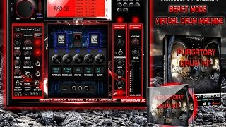 Beast Mode Virtual Drum Machine Special Edition Red -   WWW.VIPSOUNDLAB.COM