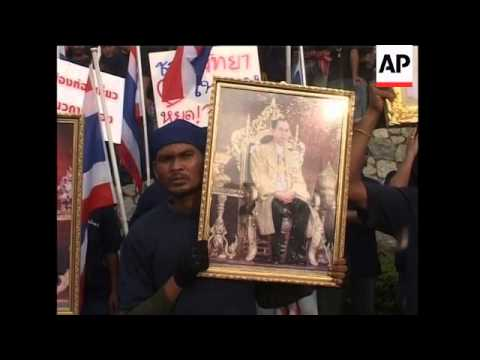 WRAP Protesters deliver message, Thai PM says ASEAN continues as planned