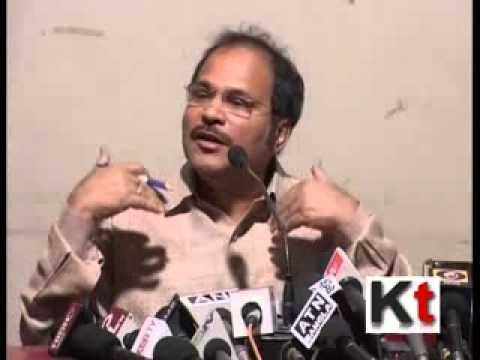 Adhir Ranjan Chowdhury Press Meet