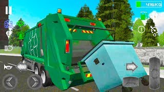 Trash Truck Simulator | Android Gameplay | Friction Games