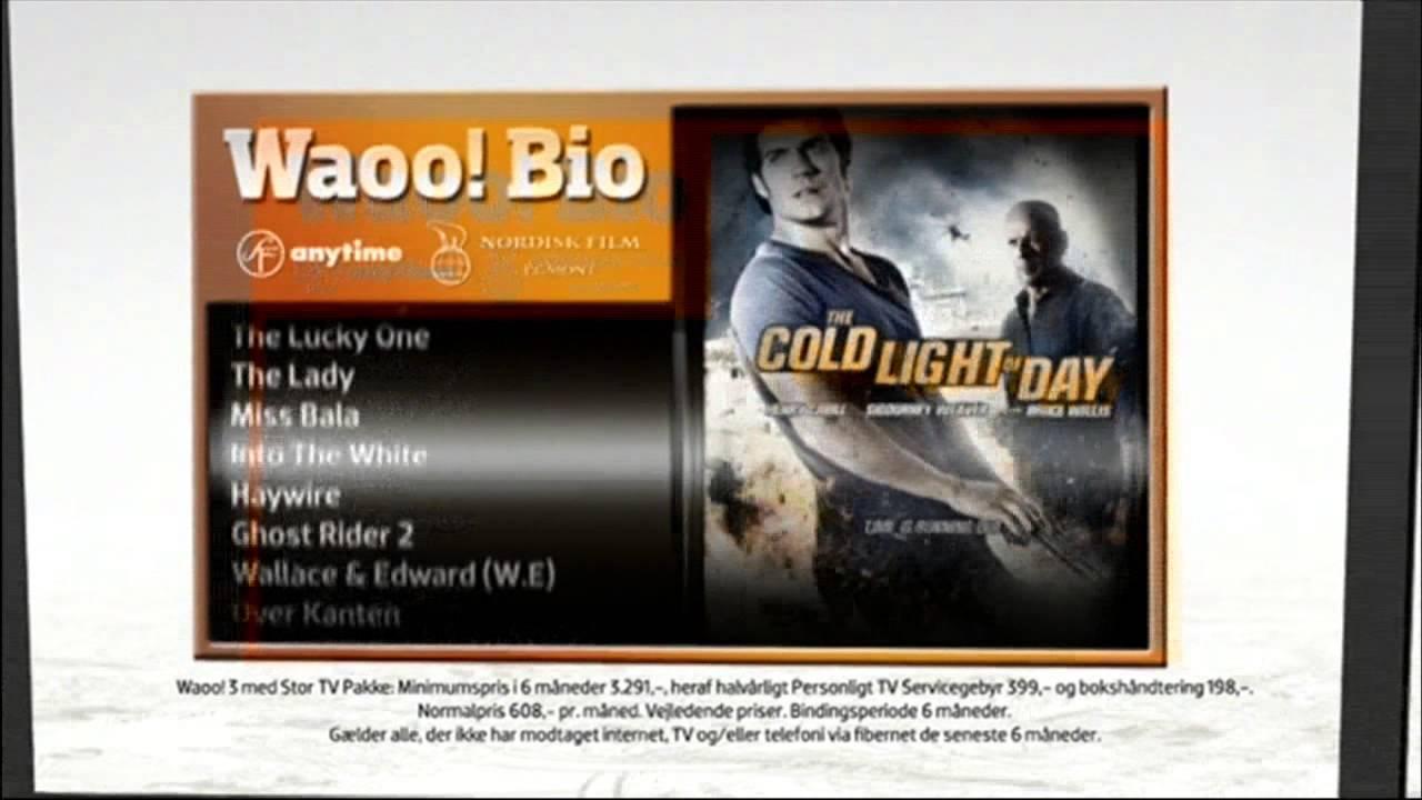 Waoo IPTV - Personal TV, Denmark, 25 October 2012