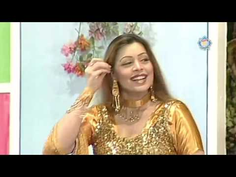 Best of Nasir Chinyoti and Khushboo New Pakistani Stage Drama Full Comedy Clip: