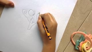 How to draw Mr.Bean (Nyron Craig