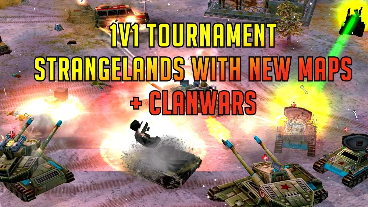 1v1 Tournament vs Jundiyy - Strangelands New Maps - Generals Zero Hour Online Multiplayer