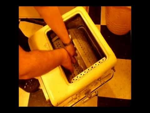 Royal Chef Table Top Washing Machine In Action