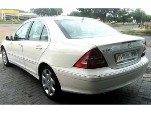 2004 Mercedes Benz C Cl C320 Cdi Elegance Automatic Auto For On Trader South Africa