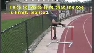 Tony Veney Teaches Effective Hurdle Drills