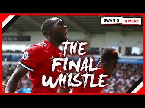 SWANSEA 0-4 MAN UNITED | THE FINAL WHISTLE SHOW