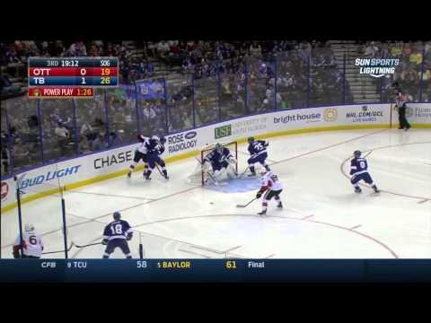 Ottawa Senators vs  Tampa Bay Lightning 11.10.2014