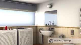 видео Вентилятор накладной Decor 100CR (Soler & Palau)