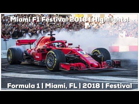 F1 FESTIVAL MIAMI 2018 (Formula 1 race)