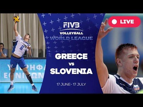 Greece v Slovenia - Group 3: 2016 FIVB Volleyball World League