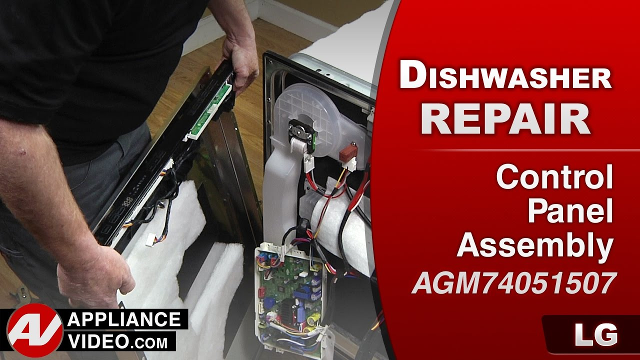 Lg Dishwasher Buttons Not Responding Diagnostic Repair Youtube Ldf6810 Ldf6920 Series Wiring Diagram
