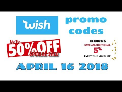Wish discount coupons for existing accounts