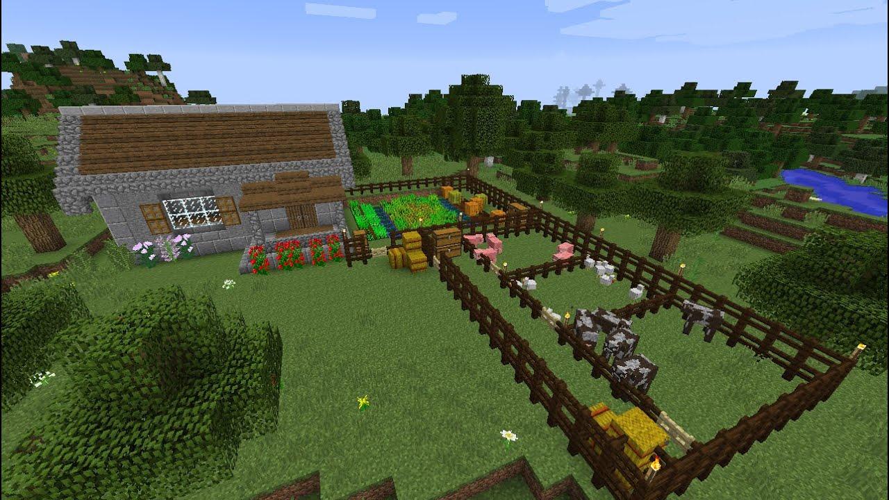 ферма дерева в майнкрафт #10