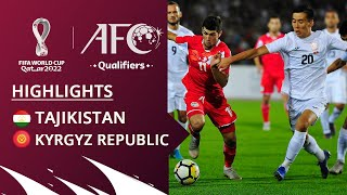Таджикистан - Кыргызстан, Отборочный турнир ЧМ-2022, Азия, Обзор матча