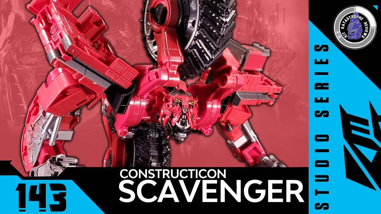 Transformers: Studio Series CONSTRUCTICON SCAVENGER Kit Reviews #143