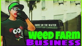 Gta online WEED FARM FULLY UPGRADED | Gta 5 Biker Business Showcase
